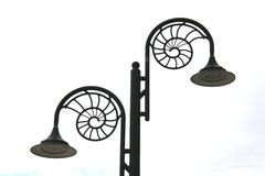 Fossil Lamps Stock Photo