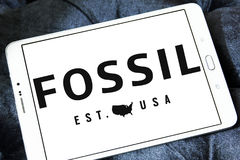 Fossil logo Royalty Free Stock Photos