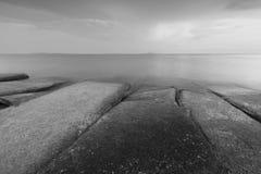 Fossil Shell Beach Cemetery Landscape Stock Photos