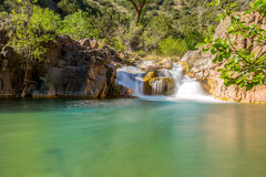 Fossil Springs Creek Arizona. Stock Photos