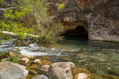 Fossil Springs Creek Arizona. Stock Photo