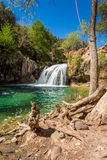 Fossil springs creek Arizona. The amazing hidden gem of fossil creek in Arizona Royalty Free Stock Photography