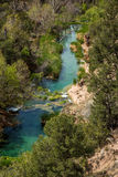 Fossil springs creek Arizona. Royalty Free Stock Photos