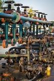 Fossila bränslen som bearbetar ventilen Royaltyfri Bild