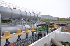 Fossila bränslenbransch royaltyfri fotografi