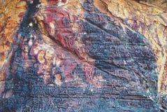 Fossile di pietra Immagini Stock Libere da Diritti