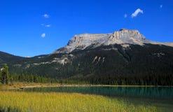 Fossils Range at Emerald Lake, Yoho National Park, Canada Royalty Free Stock Images