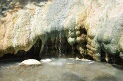 Fosso Bianco near Bagno San Filippo in Tuscany Royalty Free Stock Photo
