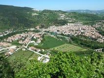 Fossombrone - Le Marche - Italien Arkivfoto