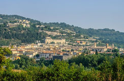 Fossombrone in Marche, Italië Royalty-vrije Stock Afbeelding