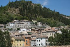 Fossombrone Marches, italy Stock Image