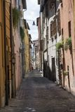 Fossombrone Marches, italy Royalty Free Stock Photos