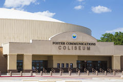 The Foster Communications Coliseum. Is a 5,260-seat multi-purpose arena in San Angelo, Texas, built in 1959 as a home for the San Angelo Stock Show and Rodeo Stock Photo