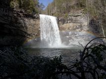 Foster Falls--Sequatchie, Tennessee stock images