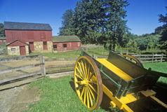 Fosterfields Living Historical Farm in Morristown, NJ Stock Image