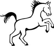 Fostra ponnyn vektor illustrationer