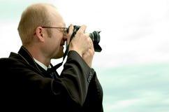 Fotógrafo Imagem de Stock