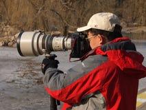 Fotógrafo Foto de archivo libre de regalías