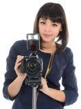 Fotógrafo. fotos de archivo