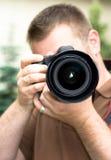 Fotógrafo Imagens de Stock Royalty Free