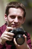Fotógrafo Imágenes de archivo libres de regalías