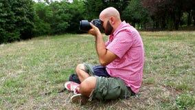 fotógrafo video estoque