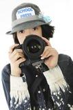 Fotógrafo adolescente Fotos de archivo