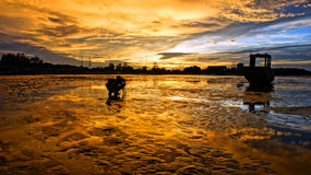 Fotógrafo asiático, paisagem maravilhosa, curso de Vietname Imagens de Stock Royalty Free
