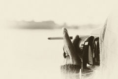 Fotógrafo bohemio del estilo Imagen de archivo