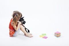 Fotógrafo conservado em estoque Imagem de Stock