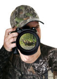 Fotógrafo da natureza Fotos de Stock Royalty Free