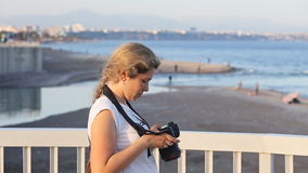 Fotógrafo da natureza no trabalho vídeos de arquivo