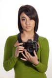 Fotógrafo de Bokeh Fotos de Stock Royalty Free
