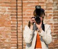 Fotógrafo de Digitaces Fotografía de archivo libre de regalías