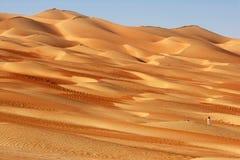 Fotógrafo de la duna Foto de archivo