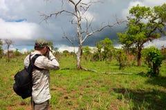 Fotógrafo de la naturaleza Fotografía de archivo
