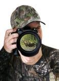 Fotógrafo de la naturaleza Fotos de archivo libres de regalías
