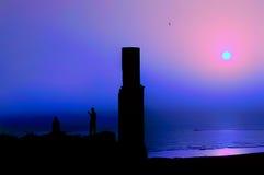 Fotógrafo de la puesta del sol en Van Fortress Fotos de archivo