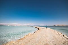 Fotógrafo Dead Sea Israel Fotografía de archivo