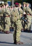 Fotógrafo del ejército foto de archivo libre de regalías