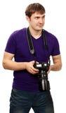 Fotógrafo del estudio Fotografía de archivo libre de regalías