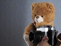 Fotógrafo del juguete fotos de archivo libres de regalías