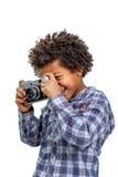 Fotógrafo del novato Imagenes de archivo