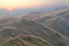 Fotógrafo del paisaje Fotografía de archivo libre de regalías