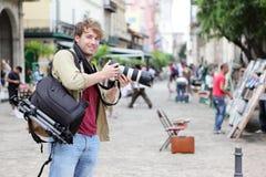 Fotógrafo del recorrido, La Habana, Cuba Foto de archivo libre de regalías