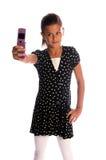 Fotógrafo del teléfono celular Foto de archivo libre de regalías