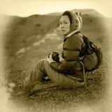 Fotógrafo do vintage Fotografia de Stock Royalty Free