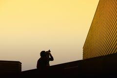 Fotógrafo e arquitetura Foto de Stock Royalty Free