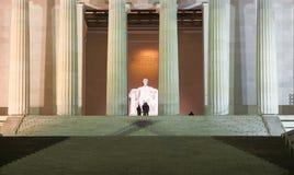 Fotógrafo em Lincoln Memorial fotografia de stock royalty free