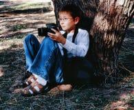 Fotógrafo en descanso Imágenes de archivo libres de regalías